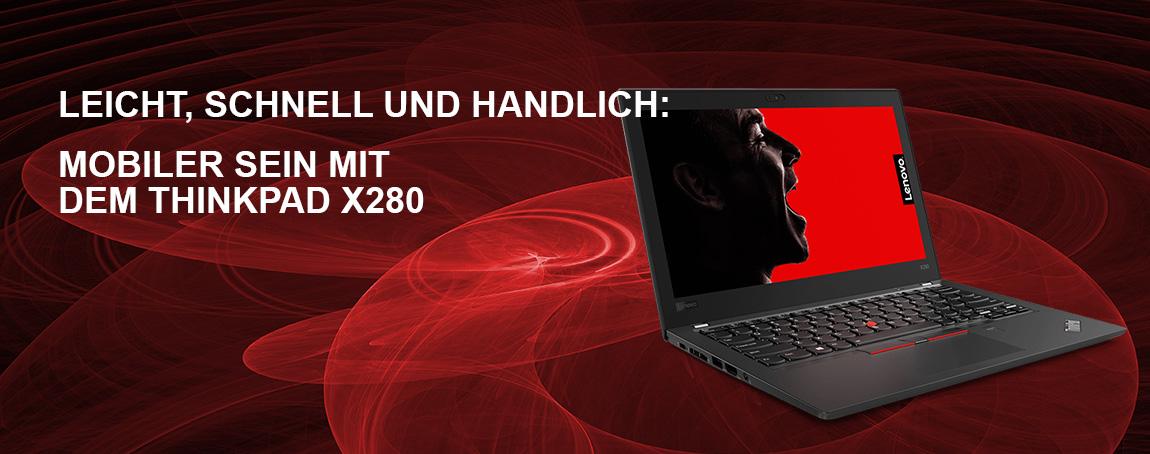 So flexibel wie Sie: Die ThinkPad X-Serie